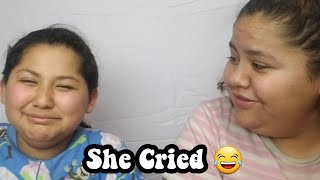 I Ate Her Food And She Cried | MukBang