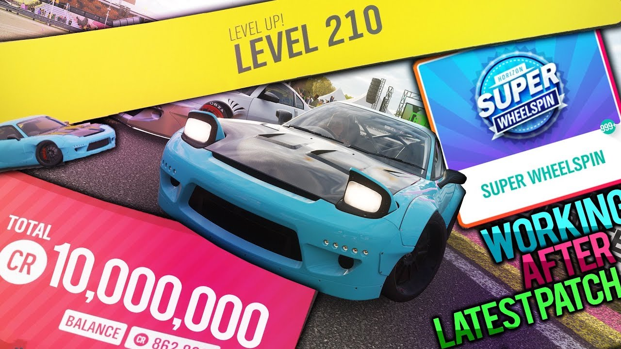 INFINITE MONEY, SUPER WHEELSPIN & INFLUENCE GLITCH! [*PATCHED*] | FORZA  HORIZON 4