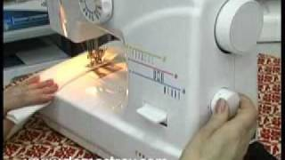 Швейная машина JAGUAR 620. Описание работы