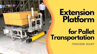 Thouzer Giant with Extension Platform [Pallet Transport Up To 500KG]