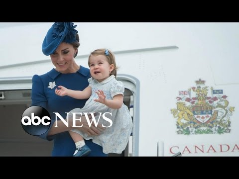 William and Kate Make Royal Landing in Canada