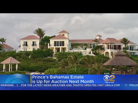 Prince's Bahamas Estate Goes Up For Auction