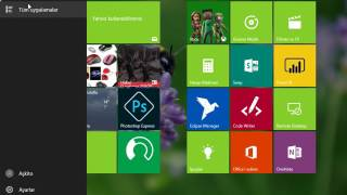 Tablet moduna geçmek ve masa üstü moduna geçmek Windows 10