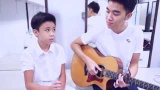 Duet with 11 year old star- White Christmas (cover by Bernard Dinata & Joshua Goh)