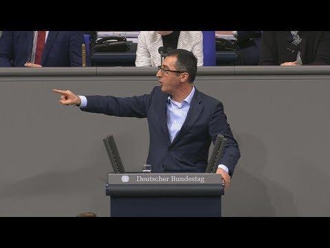Deniz Yücel: Cem Özdemir tobt im Bundestag gegen die AfD
