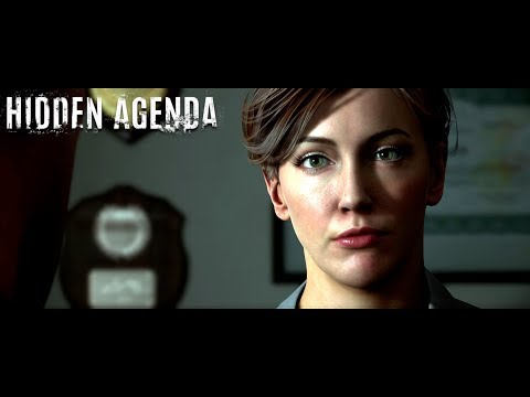 HIDDEN AGENDA GAMEPLAY WALKTHROUGH (PS4 PRO)