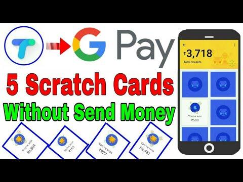 Earn Google Pay Scratch Card Without Sending Money To Friends 😍   Bina Paise Send Kiye Scratch Card