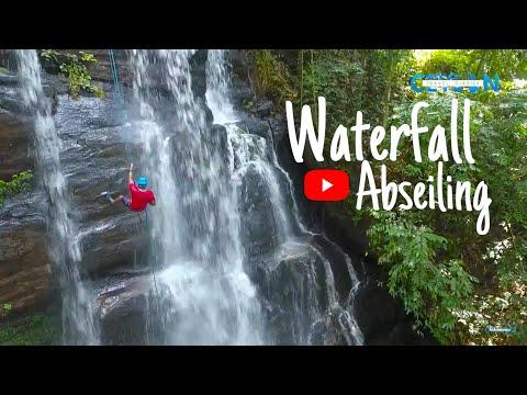 Waterfall Abseiling | Sri Lanka