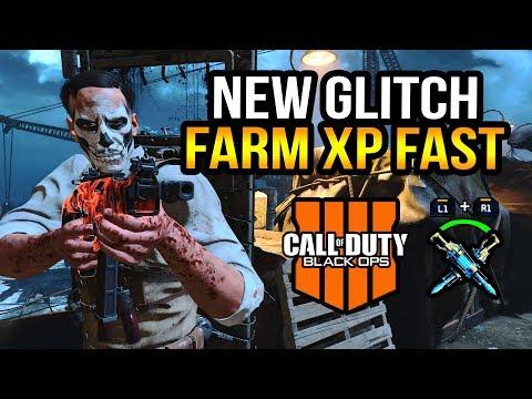 Black Ops 4 Zombies  New Infinite Ragnaroks Glitch! Level Up Fast! Updated