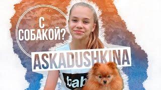 AskAdushkina 8 С СОБАКОЙ