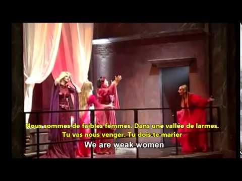 Roméo et Juliette: Tu dois te marier, Dual Subtitles English French Lyrics Paroles