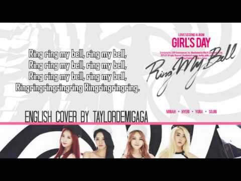 🔲 GIRL'S DAY (걸스데이) - Ring My Bell (링마벨)   English Cover by JANNY