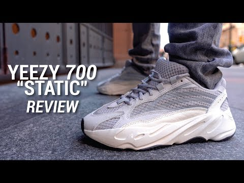 new concept 50bdf 84fbd Adidas Yeezy Boost 700 V2 Static Review & On Feet - YouTube