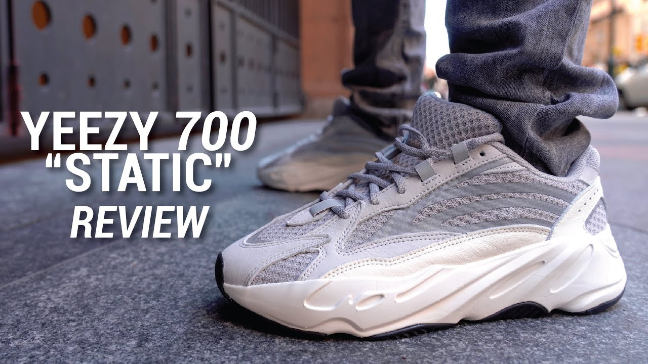 dd7fe05962f Adidas Yeezy Boost 700 V2 Static Review   On Feet - YouTube