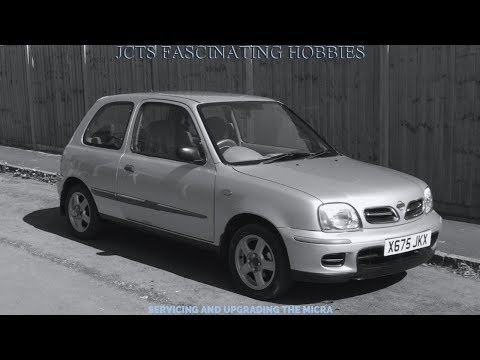 Carrying out a Basic Service on a 2000 K11 Nissan Micra