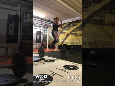 Lindsey Veldhoen Arena Throwdown