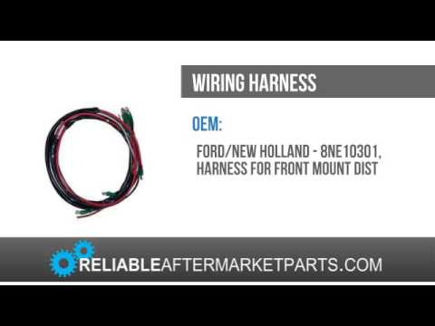 hqdefault 8ne10301 new ford tractor 2n 8n 9n front mount wiring harness for ford 9n wiring harness at bayanpartner.co