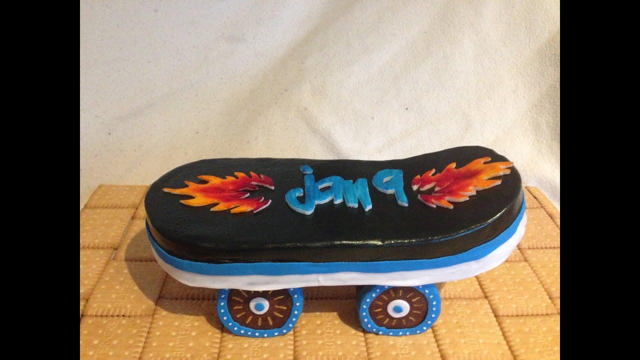 Skateboard Kuchen Youtube
