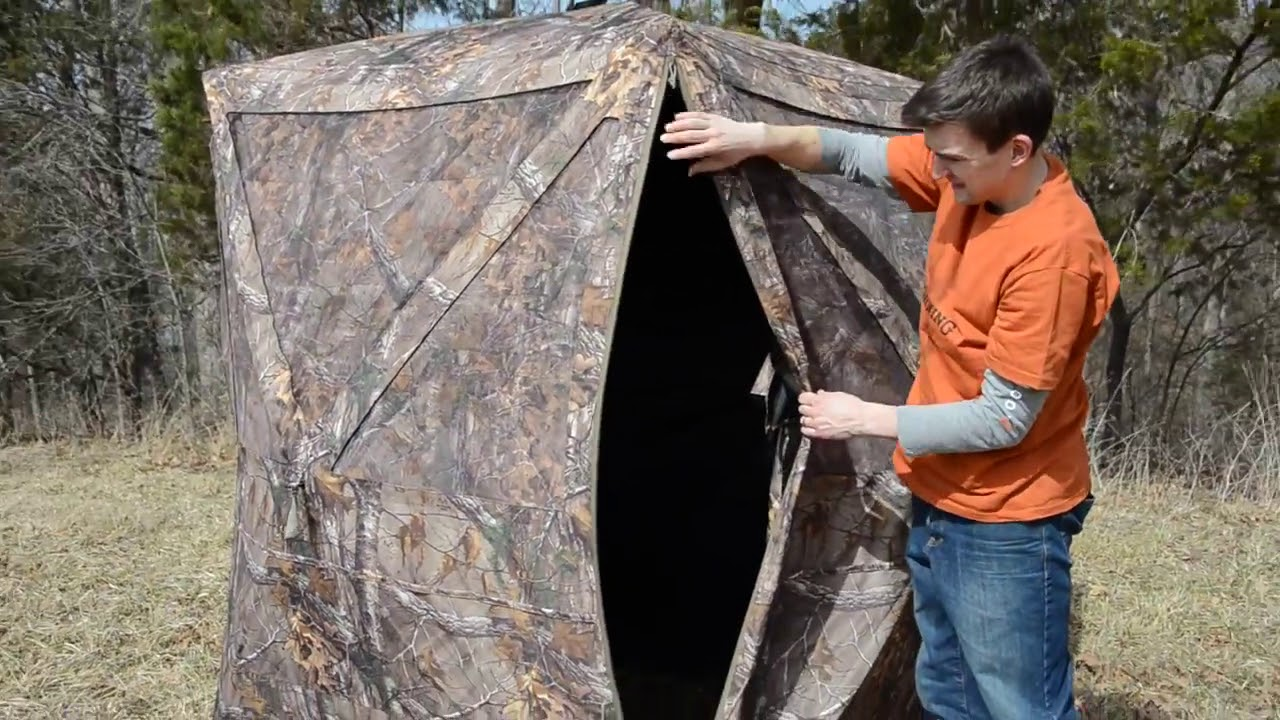 index ground blinds at illusion ts blind hunting product browning
