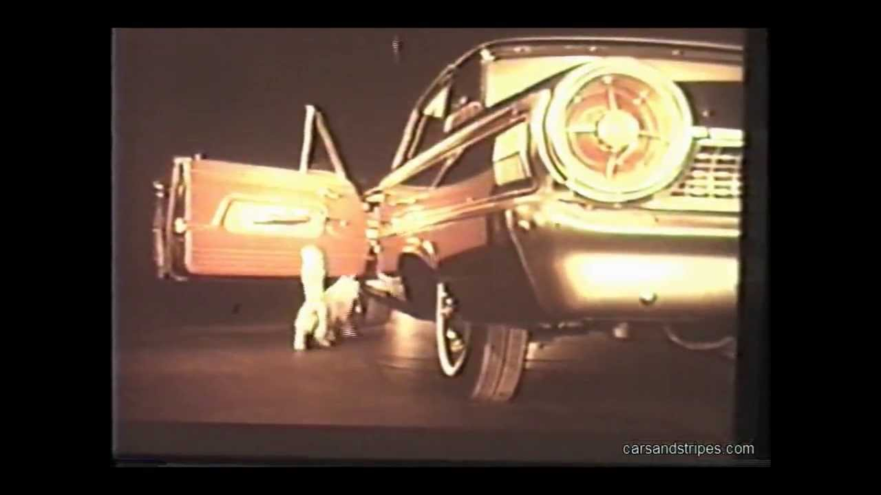1963 Ford Galaxie TV Commercial in color