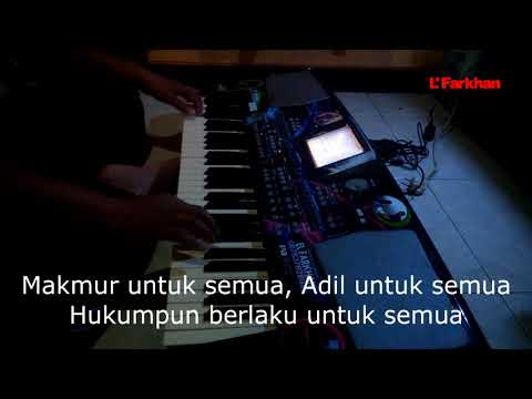 Merdeka Membangun Karaoke Lirik cover by El Farkhan Kebumen