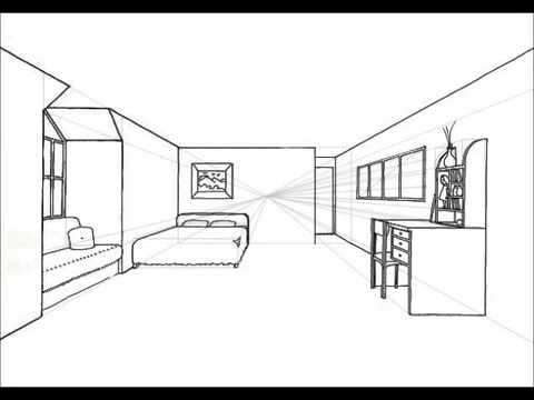 Dibujar habitacion en 3d pasos sobre como dibujar una for Crear habitacion 3d online