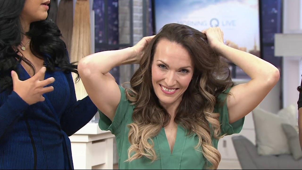 Bellami Bell Air Volumizing Hair Extensions On Qvc Youtube