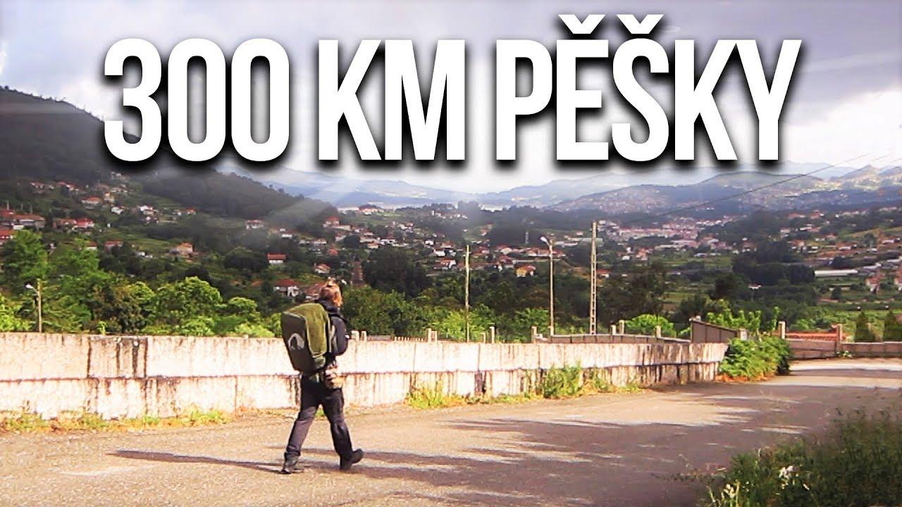 UŠEL JSEM 300KM PĚŠKY    Caminho De Santiago