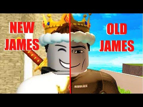 jim dah noob roblox The Evolution Of James The Noob King Roblox Youtube