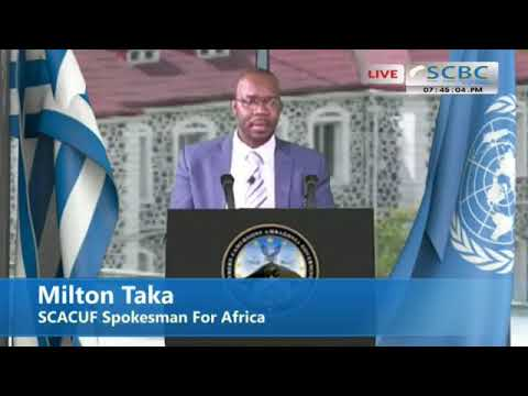 Mr. Milton SCACUF Spokesperson for Africa addresses Ambazonians 29/08/2017 Edition