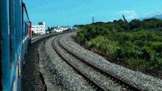 [HD] Ride the Taiwan TRA Ordinary train no. 354 haul by GM EMD R121 depart Taitung Station Part 1
