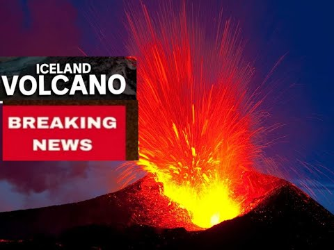 Breaking News Australia Universe World Iceland Volcano Eruption Continue  Climate Change Real Live
