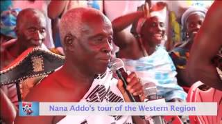 Nana Akufo-Addo - Courtesy call on Krontihene of Dadieso