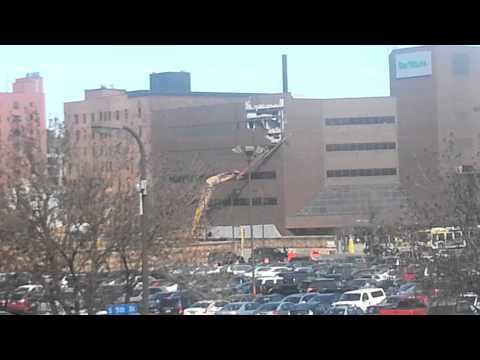 Star Tribune building destruction