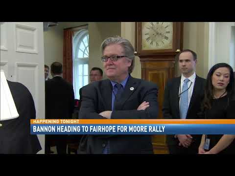 Steve Bannon, Phil Robertson join Moore for Fairhope rally - NBC 15 News, WPMI