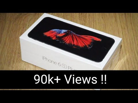 Apple IPhone 6s Plus Unboxing And First Look | Full Review[Hindi]