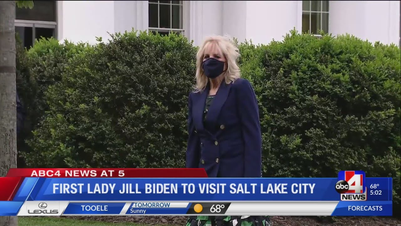 First Lady Dr. Jill Biden coming to SLC Wednesday