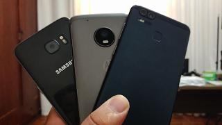 Galaxy S7 Edge vs Moto G5 Plus vs Zenfone 3 Zoom - Teste de Câmera em Baixa Luz
