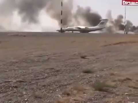 YemenWeek: Saudi Airstrike Bombs a Civilian Yemeni Airplane and destroys Sanaa airport  28 4 2015
