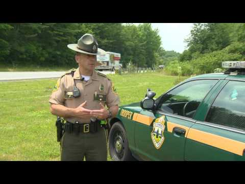 State Police Ridealong, July 2012
