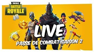FORTNITE BATTLE ROYALE Season 2 Combat Pass LIVE REPLAY