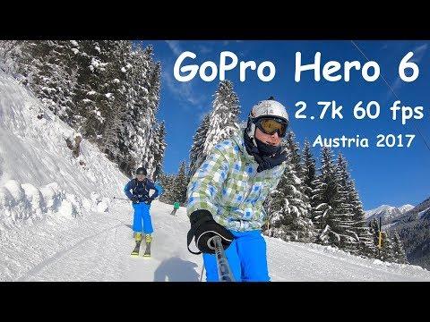 Ski Austria - Gopro hero 6 - 2.7K 60 fps