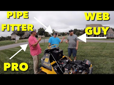 Teaching A DIY'er How To Use Commercial Lawn Equipment