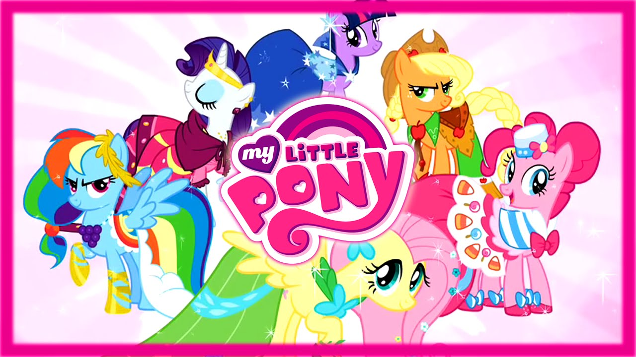 My Little Pony Prom Makeup Dress Up Game