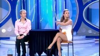 Анна Семенович и Сергей Лазарев. КВН
