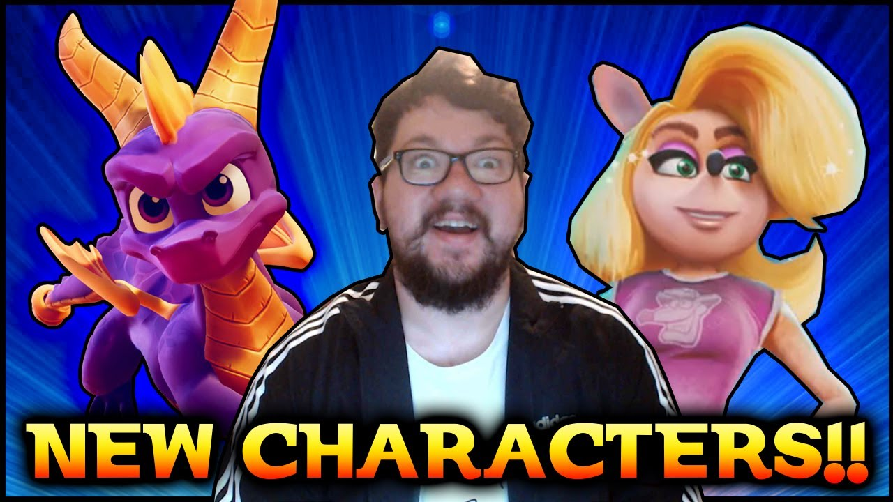 SPYRO AND TAWNA ARE IN CTR | Videogame News | The Shidazzle Show