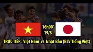 Link xem TRỰC TIẾP trận U23 Việt Nam vs U23 Nhật Bản | BLV Tiếng Việt