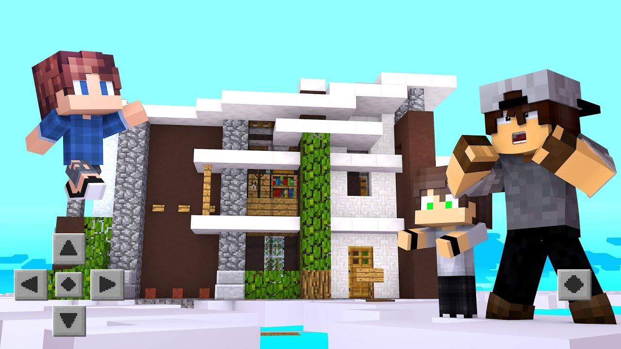 Minecraft: INSCRITOS #34 - O INSCRITO FEZ UMA CASA NO CÉU !!