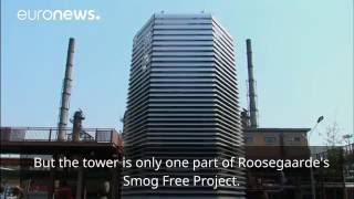 World's largest air purifier makes debut in China