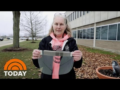 Meet The Detroit Grandmother Who's Saving Lives By Making Face Shields | TODAY